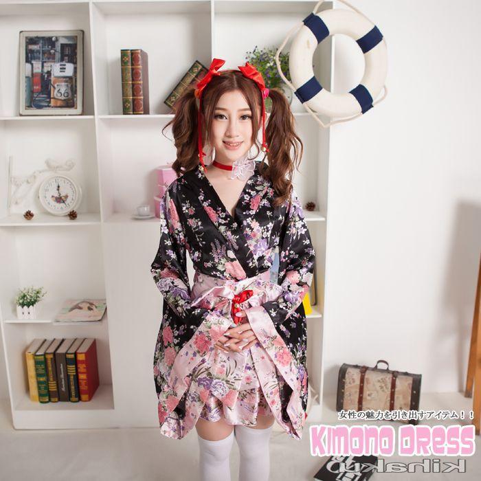 画像3: 紐取り外しOK!!2WAY♪フリルがキュート♪ミニ☆フレア☆着物ドレス♪6点セット☆