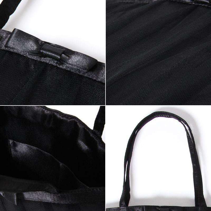画像5: 【WEBEL】サブバッグ付サテンフォーマルバッグ★カラー全3色/ブラック・ホワイト・ピンク