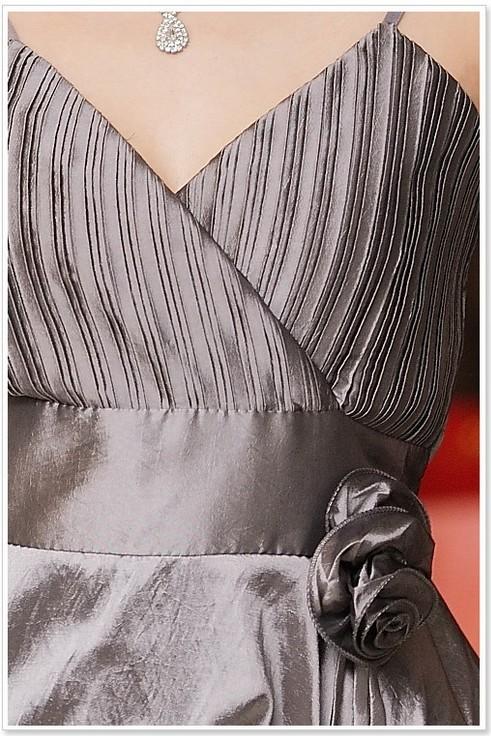 画像4: 大きいサイズあり!!結婚式♪パーティー♪二次会に♪くしゅくしゅバルーン★ドレスワンピース♪カラー全3色/グレー・ブルー・レッド