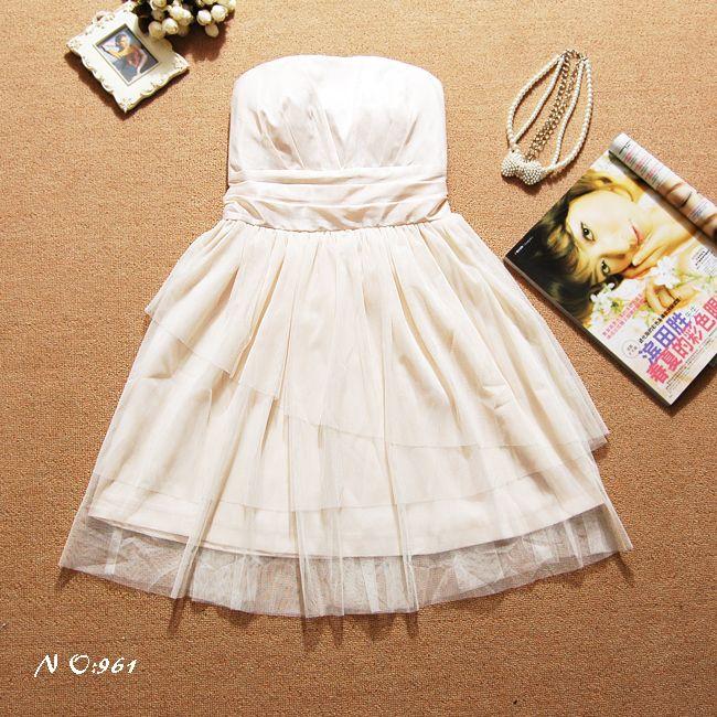 画像: 大きいいサイズあり!!結婚式♪パーティーに♪チュール★ドレスワンピース☆カラー全5色/ブラック・ホワイト・ベージュ・パープル・レッド
